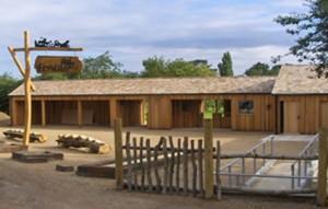 hobbledown adventure park entrance building